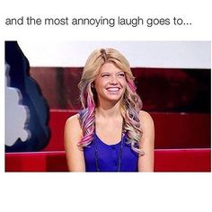 Chanel West Coast from Ridiculousness of course
