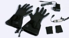 Battery heated gloves, great for outdoor when it's cold.