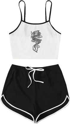 Crop Top And Shorts, Crop Top Outfits, Swag Outfits, Mode Outfits, Girly Outfits, Cute Casual Outfits, Pretty Outfits, Cute Outfits For Kids, Outfits For Teens