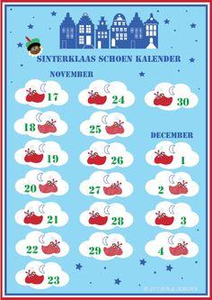 Sinterklaas schoen Kalender