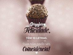 Muito amor! #brigadeiro #chocolate #amor #sexta #felicidade #moikana
