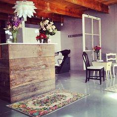 Loft Boutique White Salon Chair Package | Standish Salon Goods