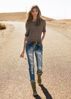 87e82176648f0e Anna Selezneva for Mango S  12 except for the boots..i like her