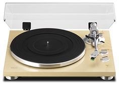 The #TN-300 belt-drive analog turntable is housed in a stylish chassis, containing an MM Phono equalizer amplifier with USB output. Both Phono and Line outputs a...
