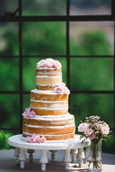 Naked Cake - The Celebration Society