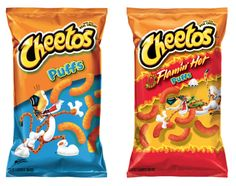 Snack ~ PepsiCo - Frito-Lay _ Cheetos 'Puffs = Various Flavors