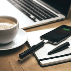 A pen and a phone charger. The two most borrowed items in the entire world, finally united in one ground-breaking device – The Power Pen.