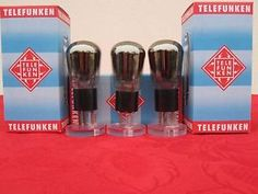 3x tube MATCHED RE074 TELEFUNKEN DIRECT HEATER TRIODE RE 074 TEST 9mA (4.4=100%) | eBay