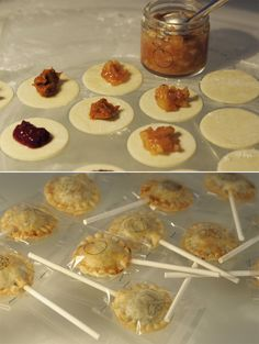 """""""Lolipop-Pies, perhaps this would work. Rotating flavors. Grab and go. In and out. Blackberry, pumpkin, apple, banana…my favorites. You see I am very slutty about my food."""""""