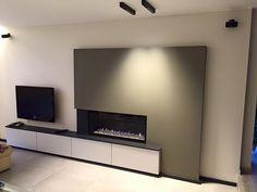 Image result for inbouwhaard TV voorbeelden