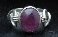 Guarda questo articolo nel mio negozio Etsy https://www.etsy.com/it/listing/519691845/anello-in-argento-massiccio-con-rubino