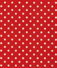 Premier Prints Outdoor Polka Dot American Red Fabric - $10.98 | onlinefabricstore.net
