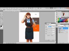 Simple Coloring Tutorial Adobe Photoshop CS5