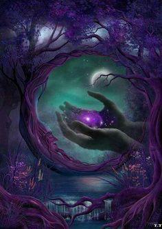Si usted puede verlo con la Mente y su Corazón. Sentirlo en las profundidades de su Alma, entonces usted lo sostendrá en sus manos.❤