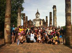 Group shot at Sukhothai via Courtney