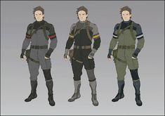Una serie de obras de arte de Metal Gear Online AJ Trahan Cuando hablamos de obras de arte de Metal Gear Solid V: The Phantom Pain, se pi...