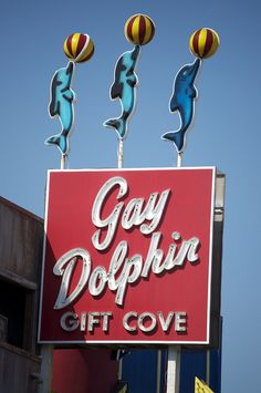 Myrtle Beach landmark, The Gay Dolphin...so many memories of years gone by....I miss the beach