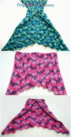 how to crochet mermaid tail fin