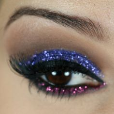 Passo a passo de maquiagem com glitter para o carnaval 2014