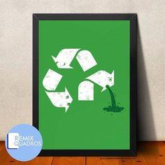 Quadro Reciclagem Tamanhos A3 http://ift.tt/1QbCues http://ift.tt/1QUWqP3 valores e forma de pagamento via Direct #quadro #frame #posterart #posterdesign #ideias #criatividade #decoracao #paredelinda #casa #casabonita #poster #presente #gift #meucantinho #lar #lardocelar #reciclagem #recicle #environment #eco #environmental #natureza #diadosnamorados #nature #sustentabilidade by remix_quadros http://ift.tt/1YSbaDI