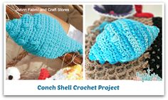 Conch Shell Crochet Pattern