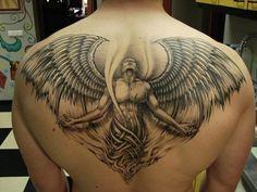 Tatuagens grandes masculinas: fotos
