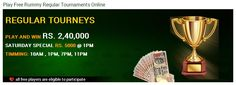 Play Free Rummy Regular Tournaments Online at Classicrummy.com  This #Rummy #Tournament is exclusively for Free players. No entry fee required; play and win real cash. Challenge 500 fellow players in this exciting multi-table and #multi-player #rummy #tournament (MTT).  For More Info: https://www.classicrummy.com/jumbo-free-tournaments?link_name=CR-518