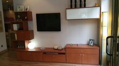 Mueble en cerezo para el comedor con diseño creativo #funcional