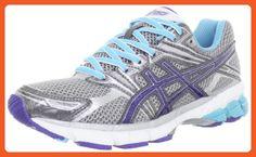 ASICS Women's GT-1000 Running Shoe,Titanium/Iris/Turquoise,6.5 D US - Athletic shoes for women (*Amazon Partner-Link)