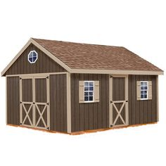 Wood Shed Kits, Diy Shed Kits, Storage Shed Kits, Home Depot Storage Sheds, Wooden Storage Sheds, Outdoor Storage Sheds, Built In Storage, Small Storage, Outdoor Sheds