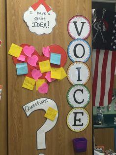 Brenda Edwards, Student Voice, The Voice, School