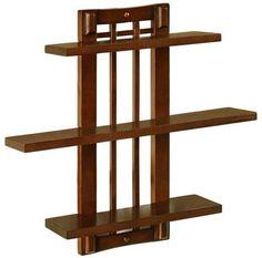Home Decorators Collection Lugo Antique Oak Ladder Bookcase