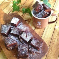 ダイエット*高野豆腐のチョコレートケーキ