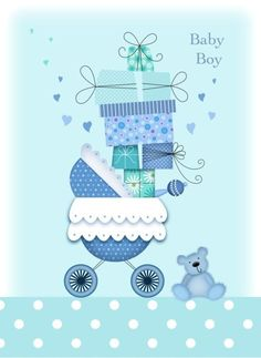 42 Trendy Baby Shower Decorations For Boys Free Printables Coloring Pages Baby Boy Cards, New Baby Cards, Congratulations Baby Boy, Project Life Baby, Baby Boy Announcement, Baby Shower Invitaciones, Baby Shower Decorations For Boys, Baby Scrapbook, Baby Boy Rooms