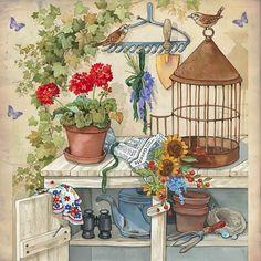 sizlerle netten bulduğum çiçek temalı dekopaj resimlerini paylaşmak istiyorum.                                                 ...