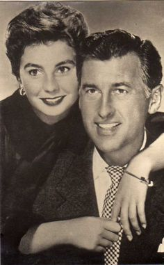 Jean Simmons and Stewart Granger,husband and wife