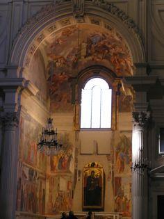 Cappella Brancacci, Chiesa Santa Maria del Carmine, Firenze - affreschi di Masaccio, Masolino da Panicale e Filippino Lippi  - 1426-1482.