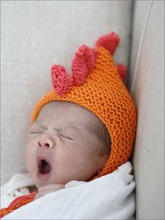 Ravelry: baby monstaa's very scary bonnet pattern by Jones & Vandermeer