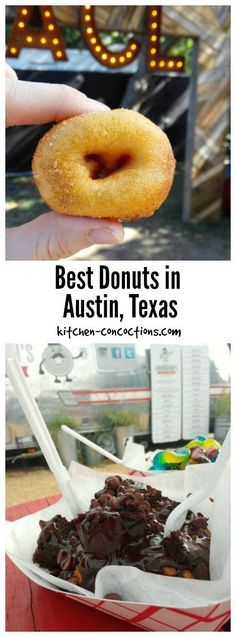 Best Donuts in Austin, Texas - Donuts, warm and covered in a thick glaze, are probably the most popular breakfast treat! If you are an Austin local or planning a vacation to Austin for spring break, SXSW, ACL or summer, then you MUST check out this extensive guide to the city's best doughnuts (including gluten free and vegan options!)!