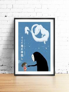 SPIRITED AWAY  Miyazaki Inspired by BlackSheepWhiteSheep on Etsy