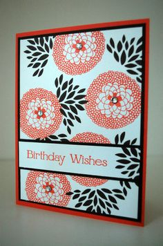 SALE-A-BRATION card featuring Stampin' Up! Petal Parade stamp set #StampinUp