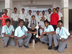 SRRI SPK PUBLIC SENIOR SECONDARY SCHOOL STUDENTS WON A Ist PLACE IN KHO KHO  KHO-KHO games between kongu sahodaya schools (Under 19) held at Mahabharati International School,kallakurichi. There were 15 and above schools participated, in that SRRI SPK PUBLIC SENIOR SECONDARY SCHOOL students won a Ist place.The Students were apreciated by School Correspondent,Chairman and Principal.