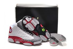 brand new 57e84 9a99e Low Price 2015 Nike Air Jordan Xiii 13 Mens Shoes White And Grey Red 2016  New, Price   95.00 - Big Kids Jordan Shoes - Kids Jordan Shoes - Cheap  Jordan Kids ...
