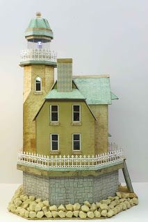 Two lighthouse paper models free templates download httpwww craft knife chronicles seashore lighthouse pronofoot35fo Choice Image