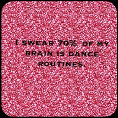 lol. #dancelife #dancerproblems #gottaloveit