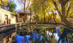Ganish village in Hunza.