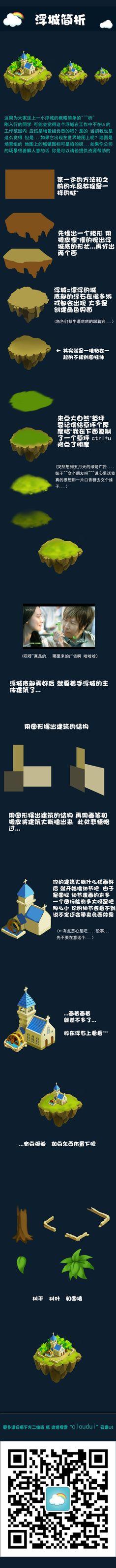 游戏ui教程图标浮城 交流QQ群 108...