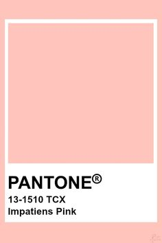 Pantone Impatiens Pink