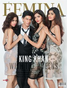 View Actor ShahRukh Khan For Femina Magazine - Mobizill