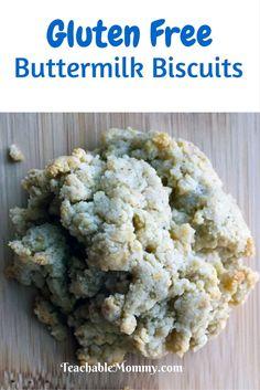 Gluten Free Buttermilk Biscuits, Gluten Free recipe, Gluten Free Biscuits
